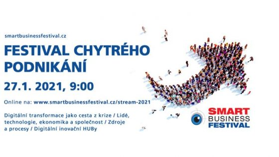 Smart Business Festival CZ 2020/21 – 27.1.2021 on-line!